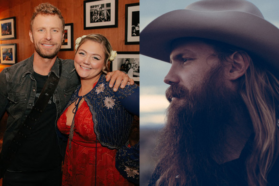 Pictured: Dierks Bentley, Elle King, Chris Stapleton
