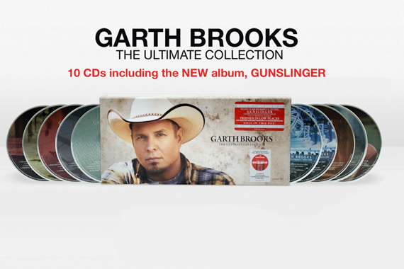 Ultimate Collection Jpg: Garth Brooks Excluded From Nielsen Sales Figures Despite