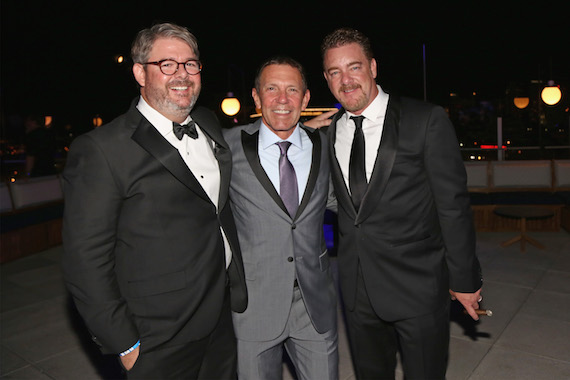 Pictured (L-R): Jay Williams, Greg Oswald and Rob Beckham. Photo: Leah Puttkammer/Getty Images for WME