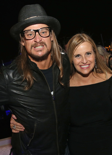 Kid Rock and Megan Barry. Photo:
