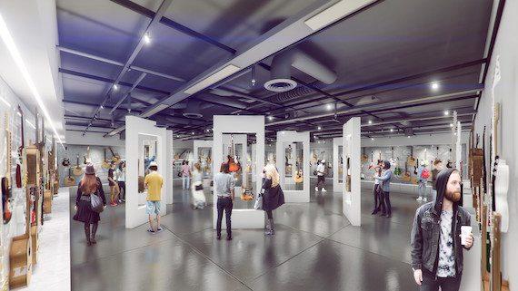 Belmont Museum rendering