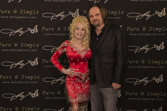 Dolly Parton and MusicRow Publisher Sherod Robertson