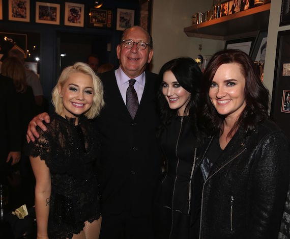 Warner Music Nashville Chairman & CEO John Esposito celebrates the BMI Awards with his annual cocktail party hosting artists and managers on Tuesday evening. Espo joins CMT Next Women of Country honorees and WMN artists RaeLynn, Aubrie Sellers and Brandy Clark