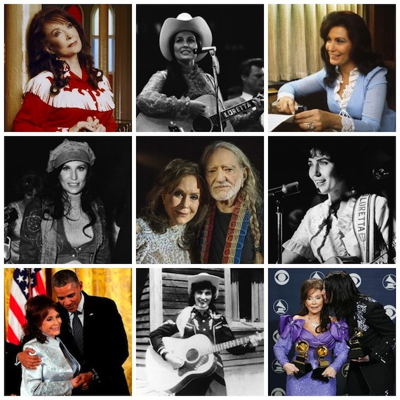 Loretta Lynn through the years. Compiled by Songcraft.