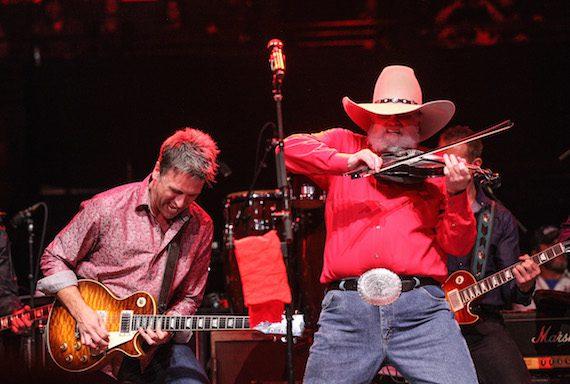 Charlie Daniels performs. Photo: Terry Wyatt/Webster PR