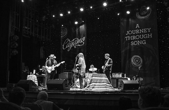 Chris Stapleton and Morgane Stapleton perform during a Sixthman cruise outing. Photo: Will Byington