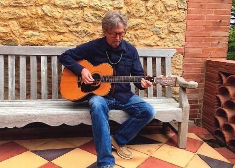 Eric Clapton. Photo: Gruhn Guitars