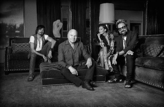 Pictured (L-R): Caballo, Stone, John Mason, Tony Brown.