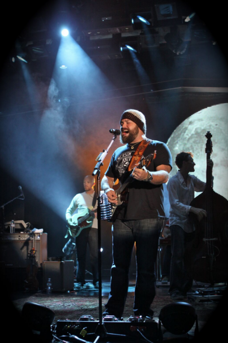 Zac Brown Band performs during a Sixthman sailing. Photo: Will Byington