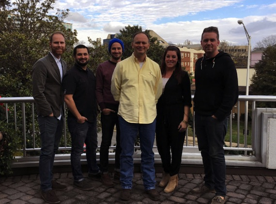 L to R- Word Publishing Staff and Tony Wood: Trevor Mathiesen, Jonathan Mason, Joel Timen, Tony Wood, Janine Appleton, Josh Bailey