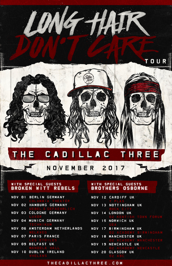 The Cadillac Three Taking 'Long Hair' Back To Europe In