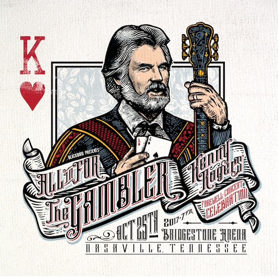 The Gambler Sits In For One More Deal Kenny Rogers Announces Farewell Concert Celebration In Nashville Musicrow Com