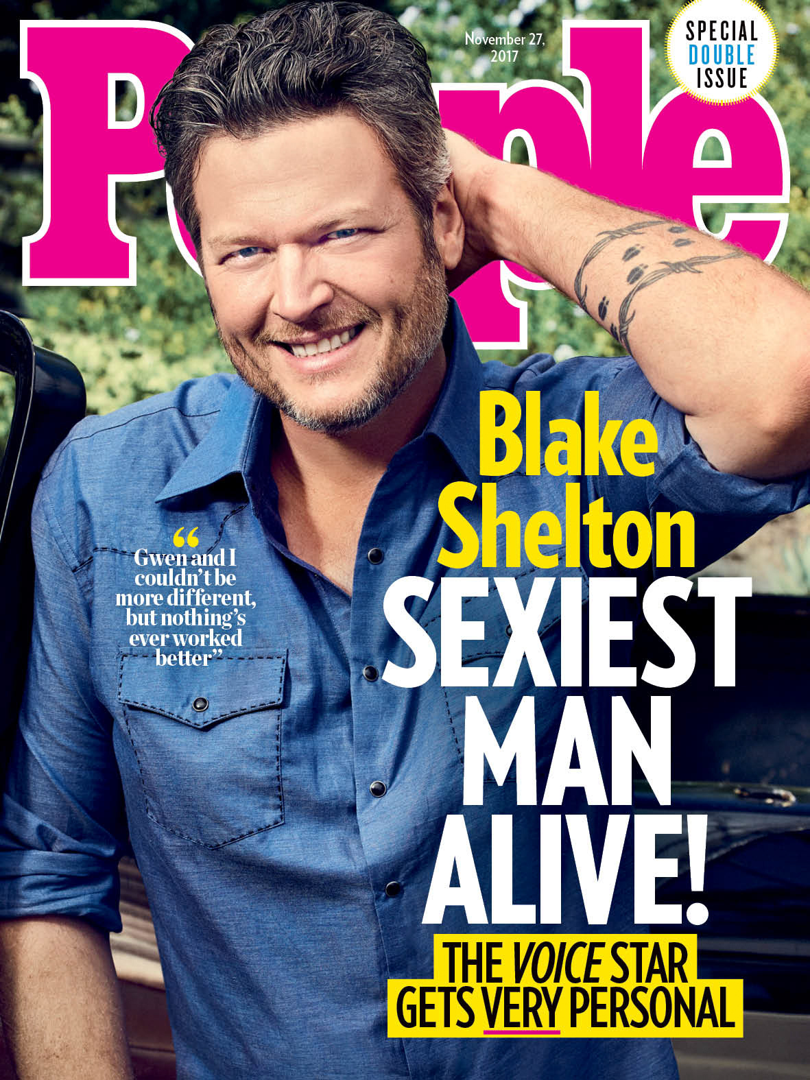 Blake Shelton Featured As First Country Artist For People's
