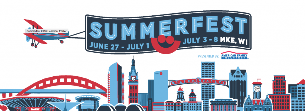 Numerous performers have been added to the lineup for Summerfest 2018,  slated for June 27-July 1, and July 3-8 in Milwaukee, Wisconsin.