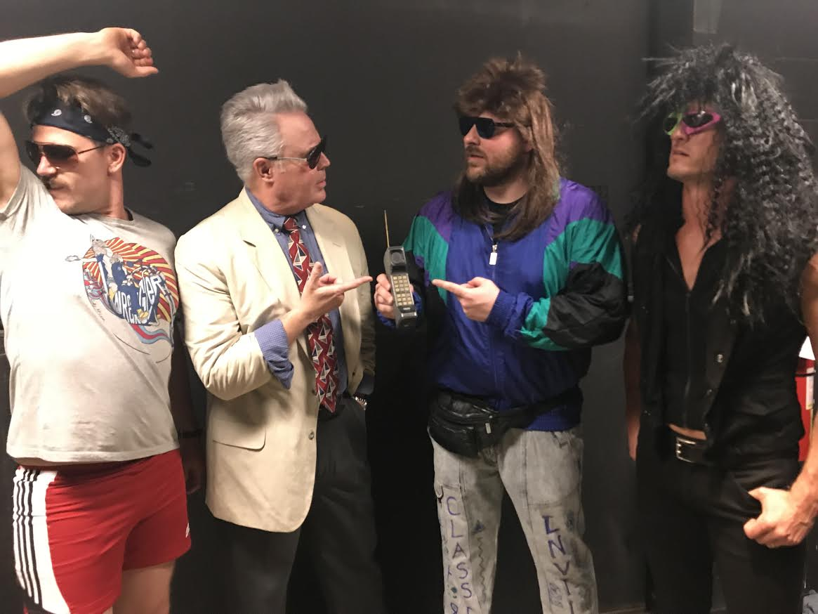 f0f74b8dc High Valley, Chris Young, and Blair Garner backstage at the '80s themed  Dance Party to End ALZ