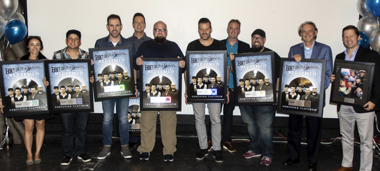 Big Daddy Weave Celebrates Riaa Platinum Certification For Hit