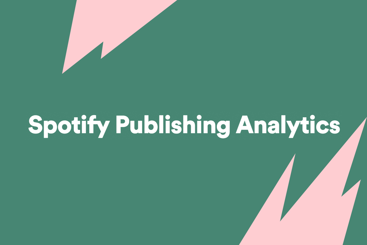 Spotify Launches Analytics Tool For Music Publishers :