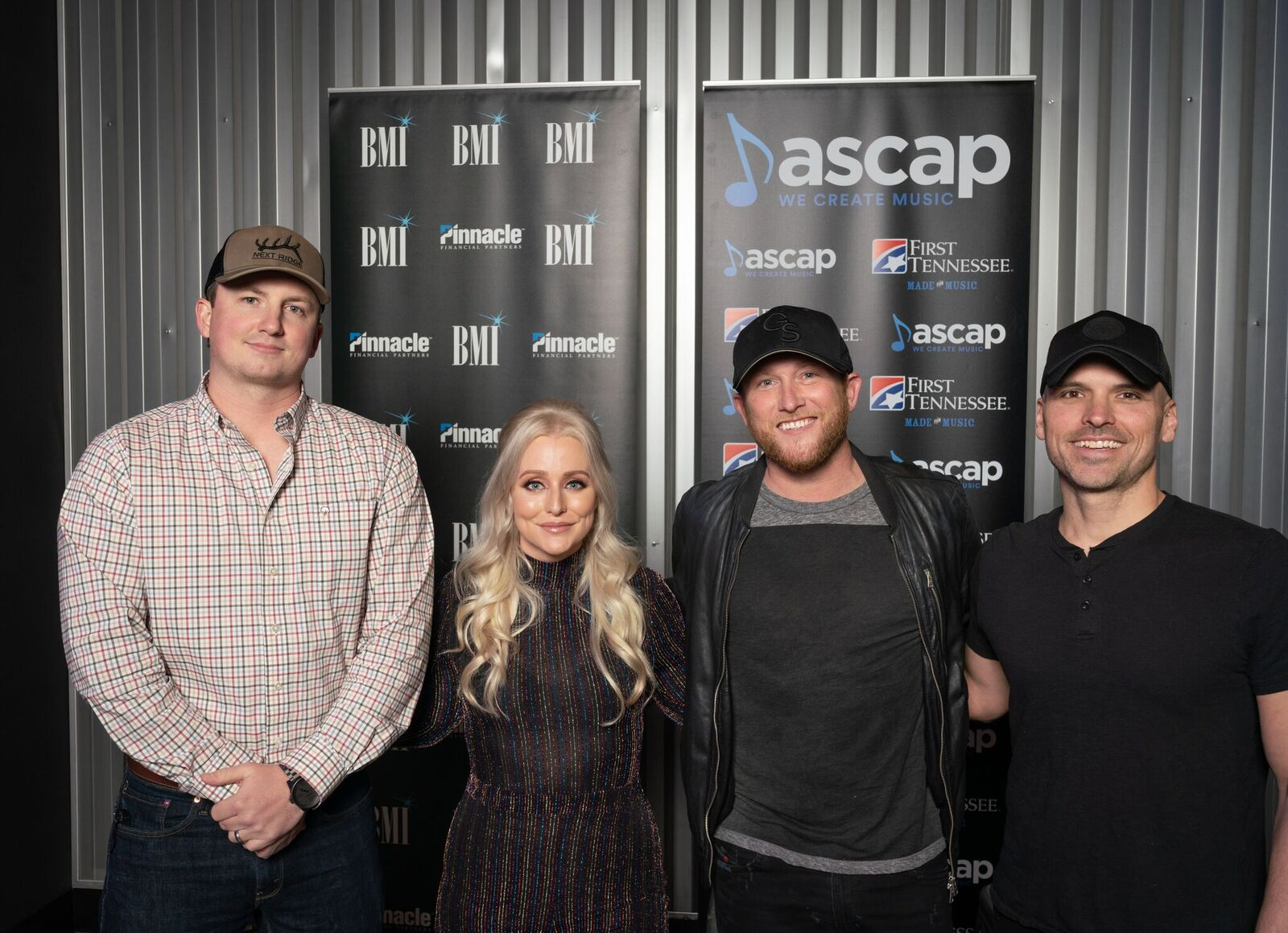 Cole Swindell And Songwriters Celebrate Grammy-Nominated Hit