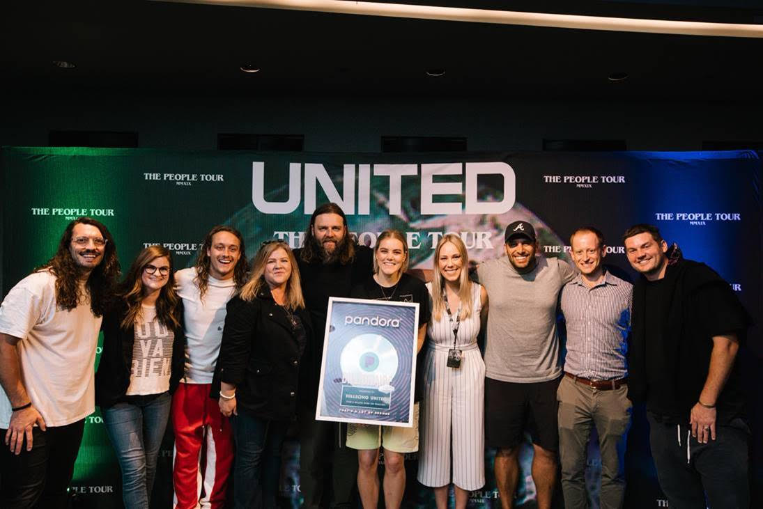 Hillsong United Joins Pandora Billionaires Club :