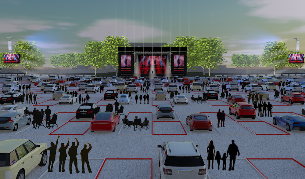 Live Nation Announces First-Ever Drive-In Concert Series Scheduled for July
