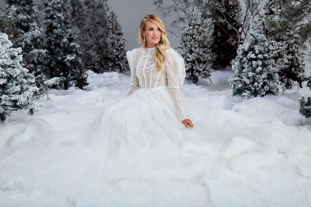Cma Christmas 2020 Artist List Carrie Underwood Unveils Track List, Guests For Christmas Album