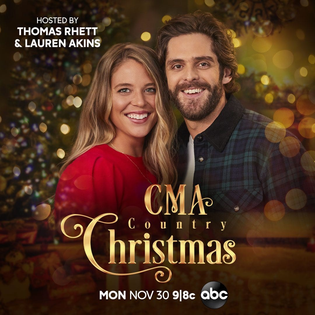 Songs Revealed For Upcoming 'CMA Country Christmas' Special :