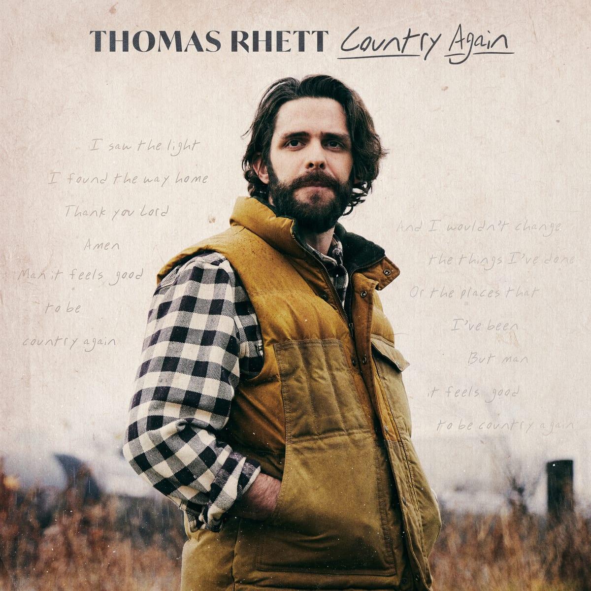 Chart Action Thomas Rhett Sweeps Country Charts Musicrow Com